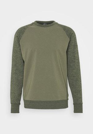DRY PLAYER CREW - Sweatshirts - medium olive/sequoia