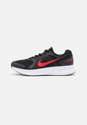 RUN SWIFT 2 - Zapatillas de running neutras - black/universe red/white