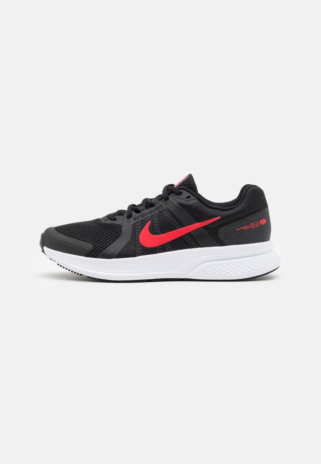 RUN SWIFT 2 - Neutral running shoes - black/universe red/white