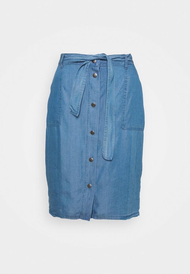 A-lijn rok - medium blue