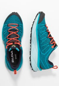 Salewa - DROPLINE GTX - Hiking shoes - ocean/canal blue - 1