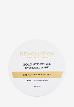 REVOLUTION SKINCARE GOLD EYE HYDROGEL HYDRATING EYE PATCHES WITH COLLOIDAL GOLD - Soin des yeux - -