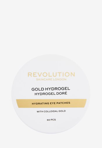 REVOLUTION SKINCARE GOLD EYE HYDROGEL HYDRATING EYE PATCHES WITH COLLOIDAL GOLD - Eyecare - -