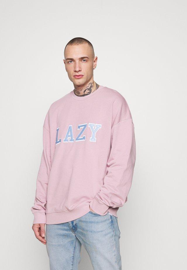 UNISEX LAZY CREW - Top sdlouhým rukávem - lilac
