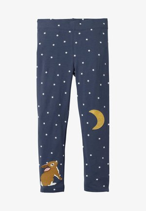 MIT APPLIKATION - Leggings - Trousers - schuluniform-navy, einhorn
