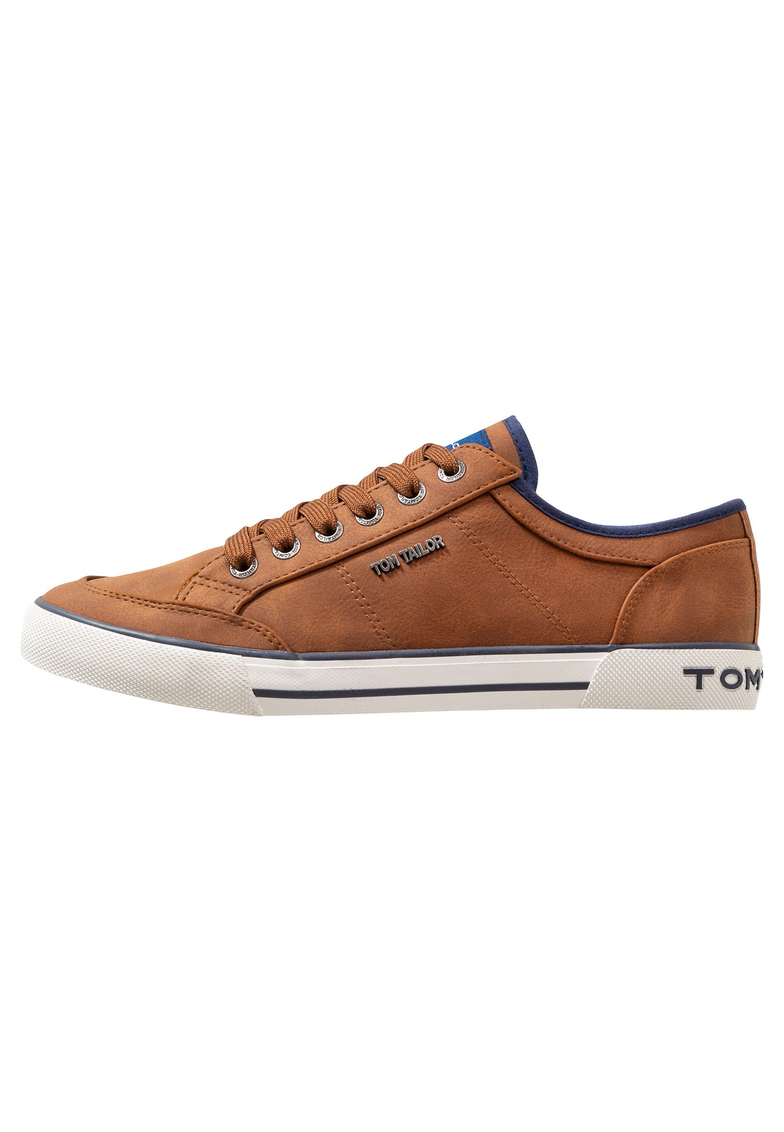 TOM TAILOR Joggesko cognac Zalando.no