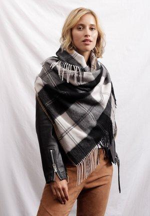 Foulard - black, white, grey