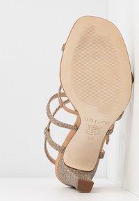 Unisa - SIMO - High heeled sandals - gold - 6