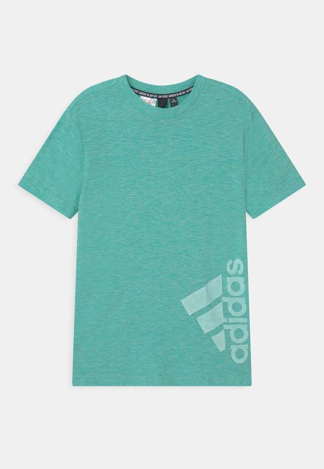SUM TEE - Print T-shirt - mint/white