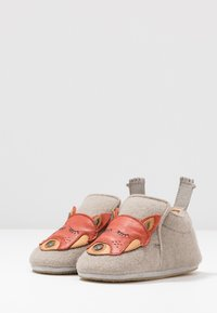 Easy Peasy - DOUBLU/PANDAMY GIFT SET - First shoes - plume/brique - 3