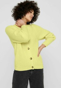 ONLY - Cardigan - pastel yellow - 4