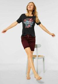 Cecil - Print T-shirt - grau - 0