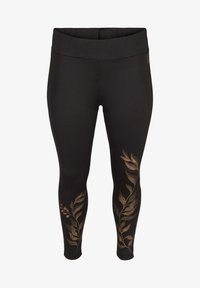 Active by Zizzi - Leggings - black - 2