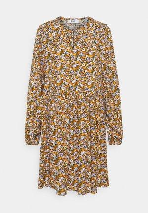 ONLTONJA COLLAR DRESS - Paitamekko - purple/orange