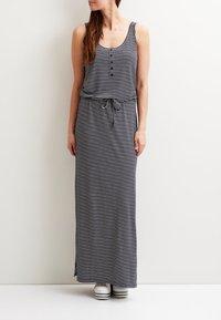 Object - OBJSTEPHANIE MAXI DRESS  - Maxi dress - mood indigo - 1