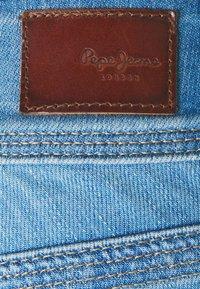Pepe Jeans - VENUS CROP - Džínové kraťasy - denim - 5