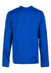 adidas Performance - TIRO 19 SWEATSHIRT - Sports shirt - bold blue / dark blue / white - 1