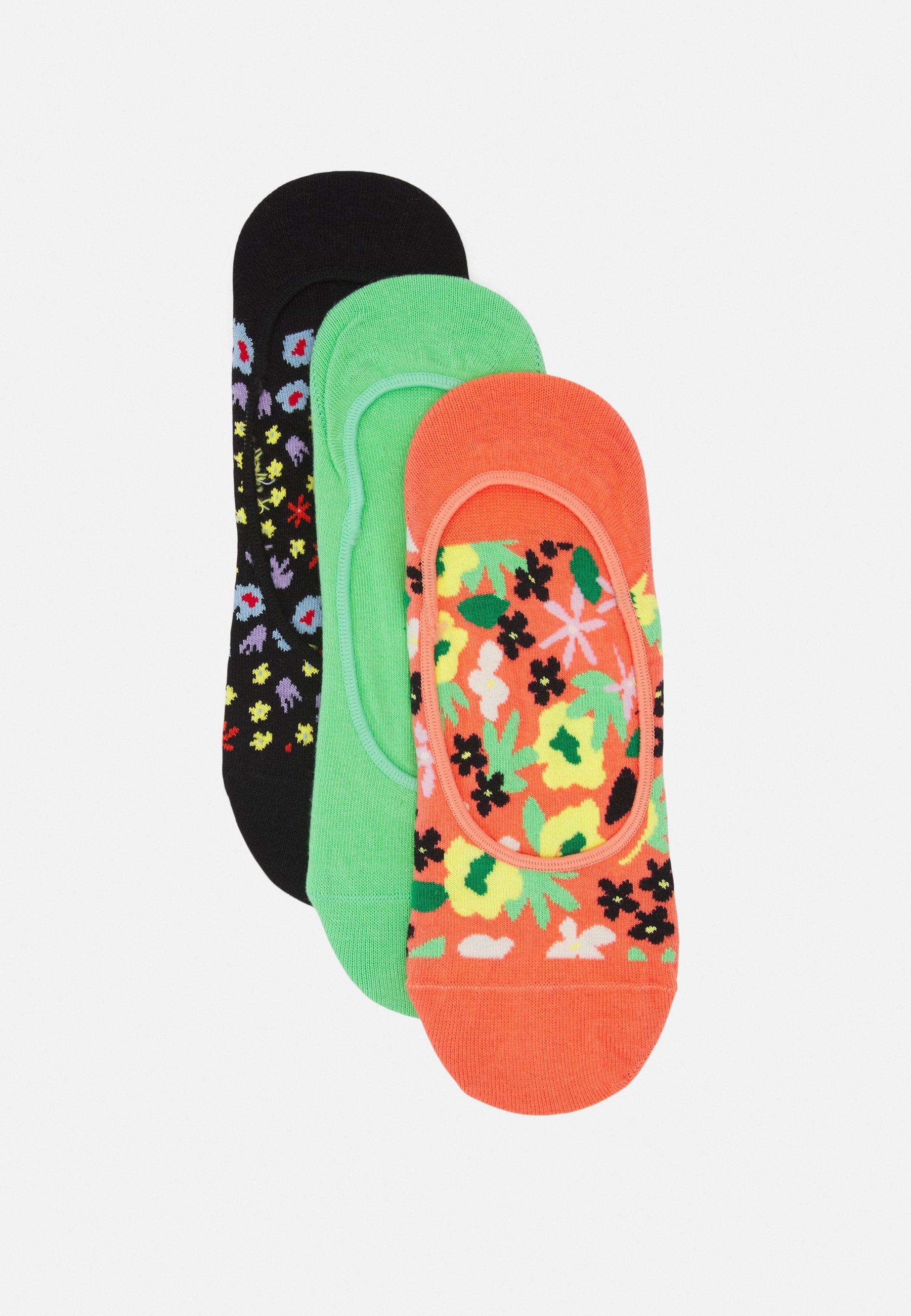 Femme FLOWER LINER SOCK UNISEX 3 PACK - Chaussettes