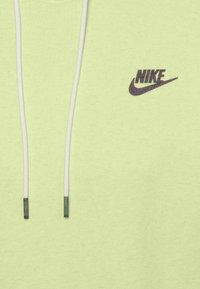 Nike Sportswear - HOODIE - Sweat à capuche - limelight/smoke grey - 6