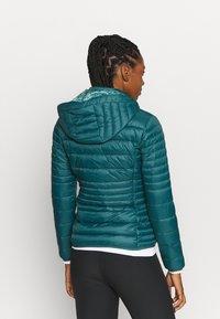 CMP - WOMAN JACKET SNAPS HOOD - Winter jacket - petrolio - 2