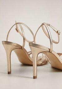 Mango - ORCA - High heeled sandals - gold - 4