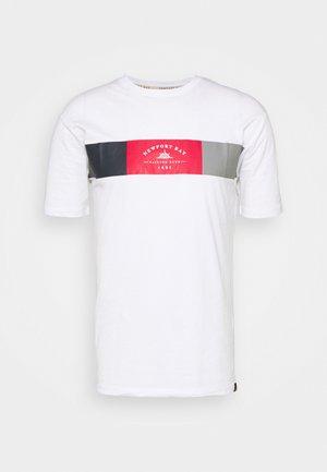 VIPER - T-shirt z nadrukiem - white