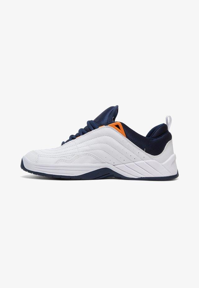 WILLIAMS SLIM - Baskets basses - white/navy