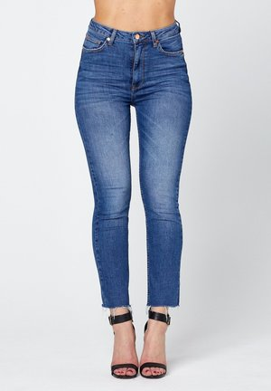O-CROP  - Jeans Skinny Fit - blue denim