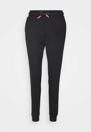 ONPALIDA REGULAR PANTS  - Joggebukse - black/coral