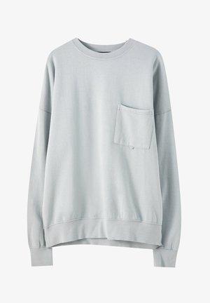 IM STÜCK GEFÄRBT - Sweater - blue