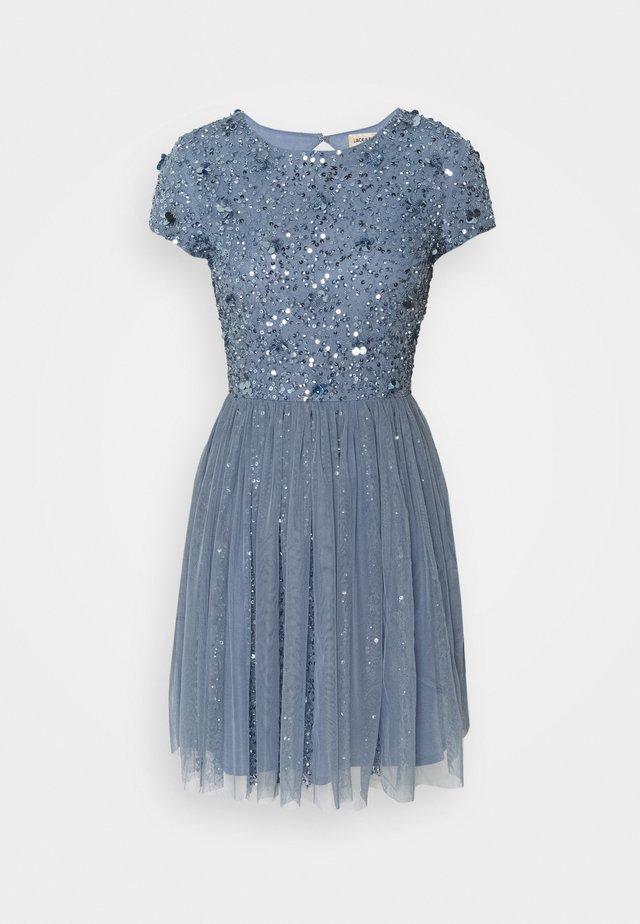 NESSIA MIDI - Cocktailkleid/festliches Kleid - blue