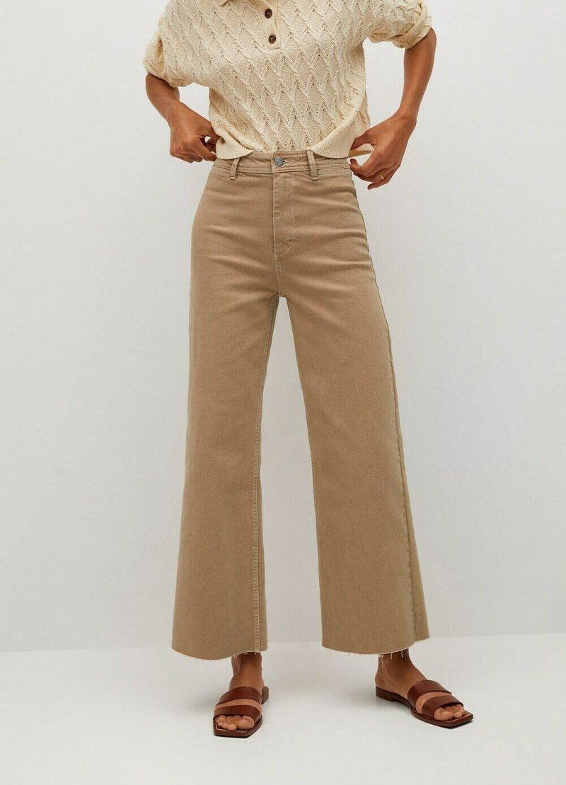 Mango - Trousers - open beige