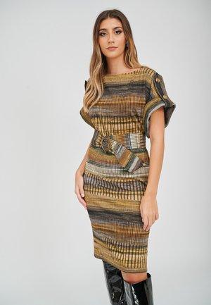 THE ZOE STRIPE PRINT  - Day dress - multi-coloured