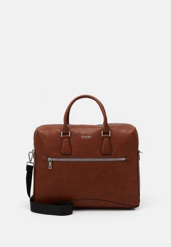 SCALA BRIEFCASE UNISEX - Briefcase - brown