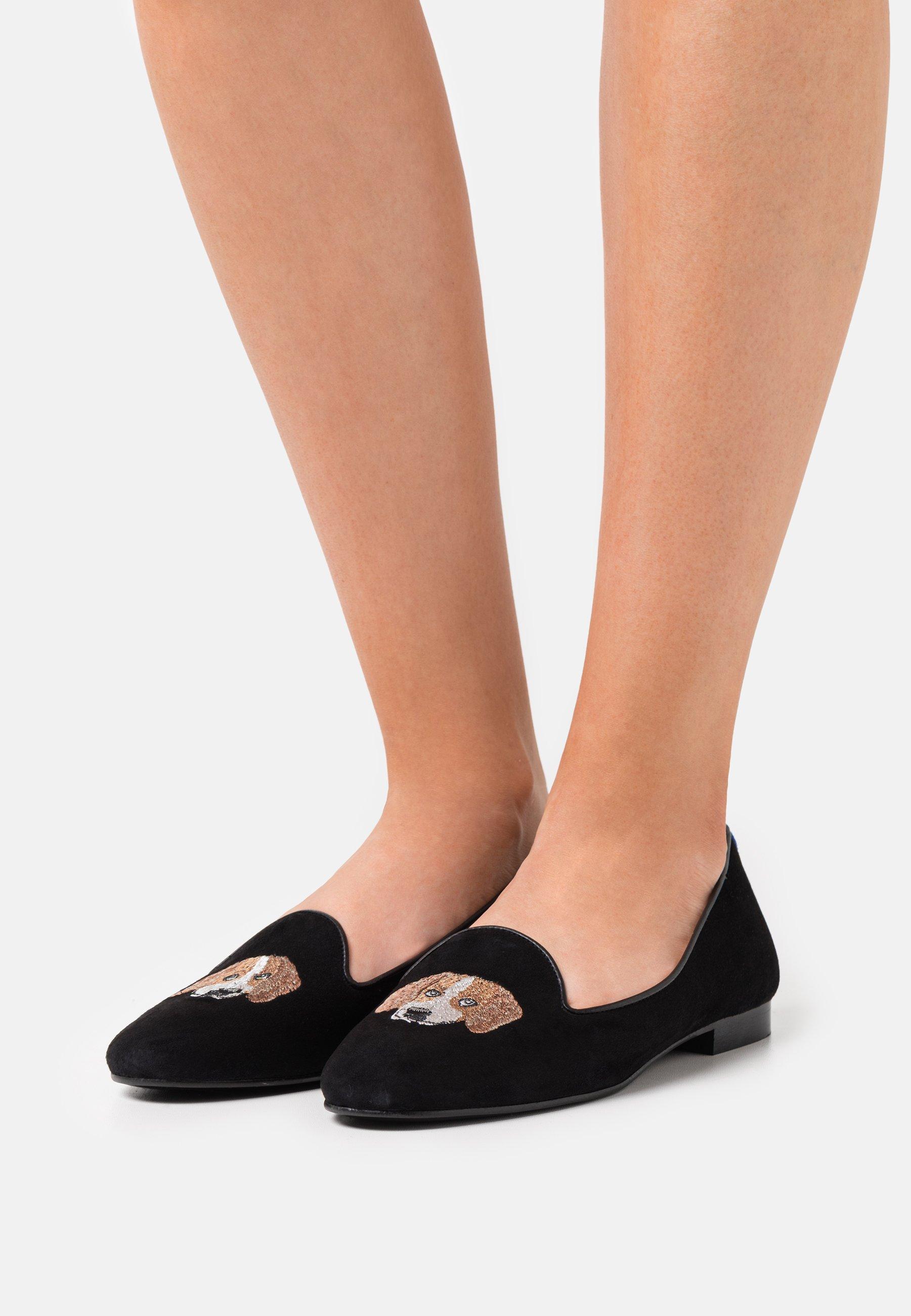 Damen FRANCOIS PUPPY - Slipper - black