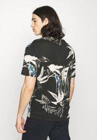 Jack & Jones - JORMONET TEE CREW NECK - T-shirt print - black - 2