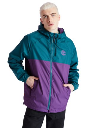 WP HOODED SHELL - Waterproof jacket - atlantic deep-plum