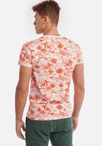Shiwi - TEE KAUAI - T-Shirt print - sunset red - 2
