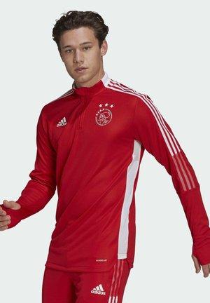 AJAX AMSTERDAM TR TOP - Club wear - team colleg red