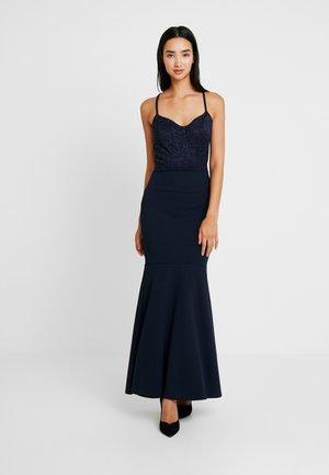 THIN STAP DRESS - Festklänning - navy