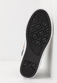 Converse - PRO BLAZE STRAP - Zapatillas altas - obsidian/midnight clover/saffron yellow - 5