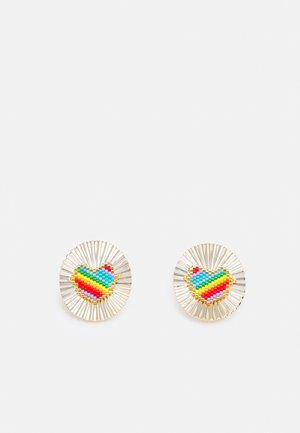 OMEGA CLASP PAD COSMIC WITH HEART - Boucles d'oreilles - multi colors