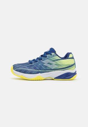 MIRAGE 300 JR UNISEX - Tennisschoenen voor alle ondergronden - sodalite blue/all white/yellow neon