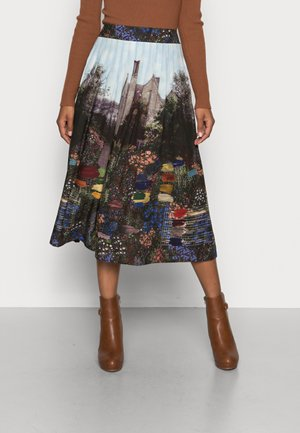 KELMSCOTT PLEAT MIDI SKIRT - Pleated skirt - multi-coloured