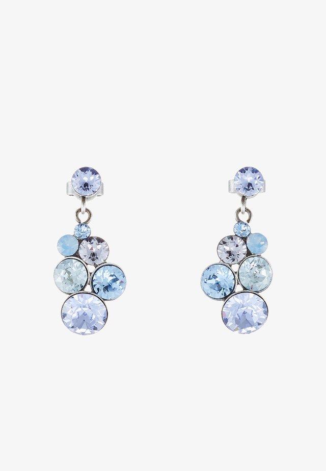 PETIT GLAMOUR - Oorbellen - blue/lila