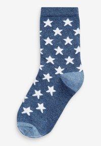 Next - 7 PACK - Socks - blue - 7