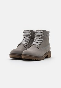 Tamaris - Lace-up ankle boots - light grey - 2