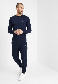 GANT - THE ORIGINAL C NECK  - Bluza - evening blue - 1
