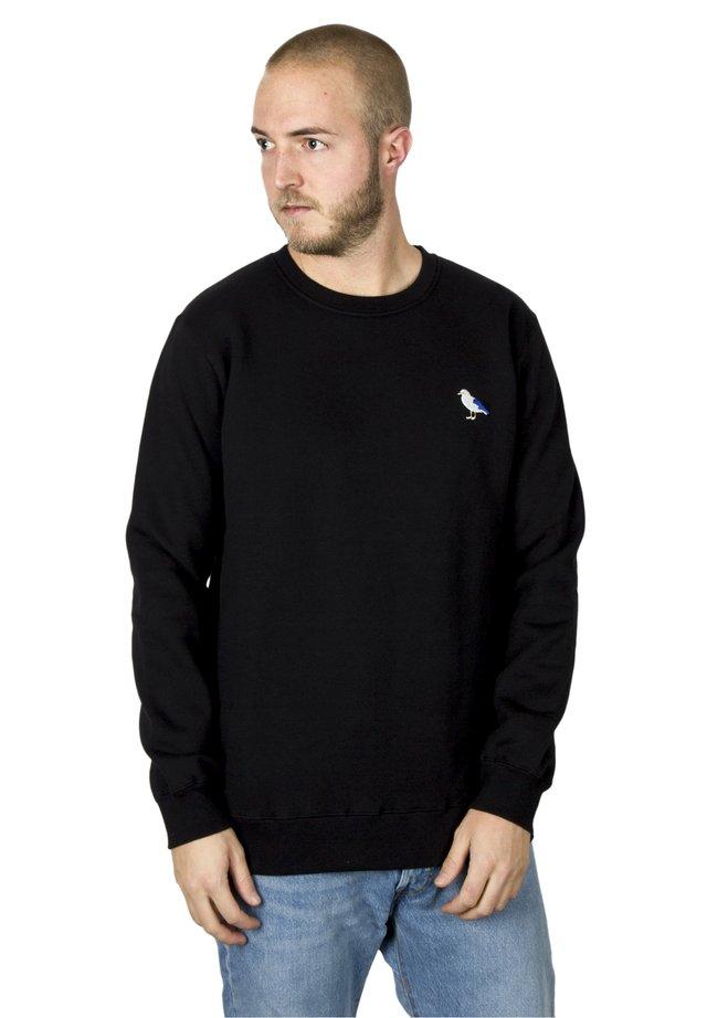 EMBRO GULL - Sweater - black