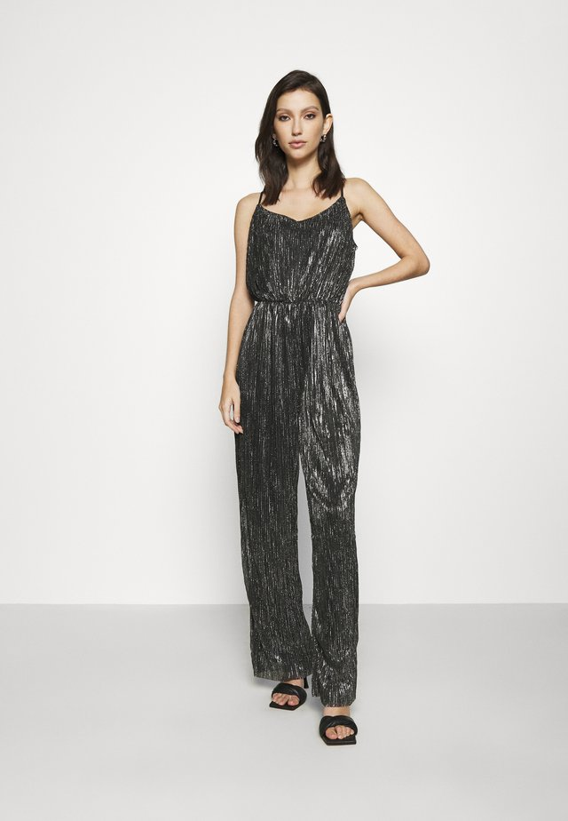 VMJENIFER SINGLET JUMPSUIT  - Jumpsuit - black/silver